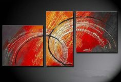 Abstract canvas oil paintings decoration wall art