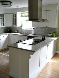 Love this white Ikea kitchen by Jena from Involving Color!