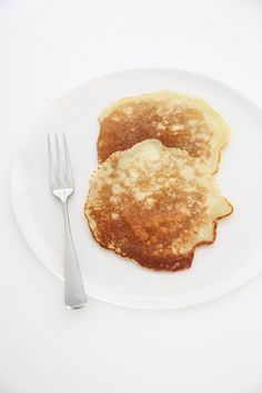 Sweet lemon pancakes by Lovely Food, via Flickr