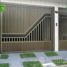 Compound Wall, Main Gate, Grill Design, Garage Doors, Outdoor Decor, Home Decor, Templates, Doors, Soldering