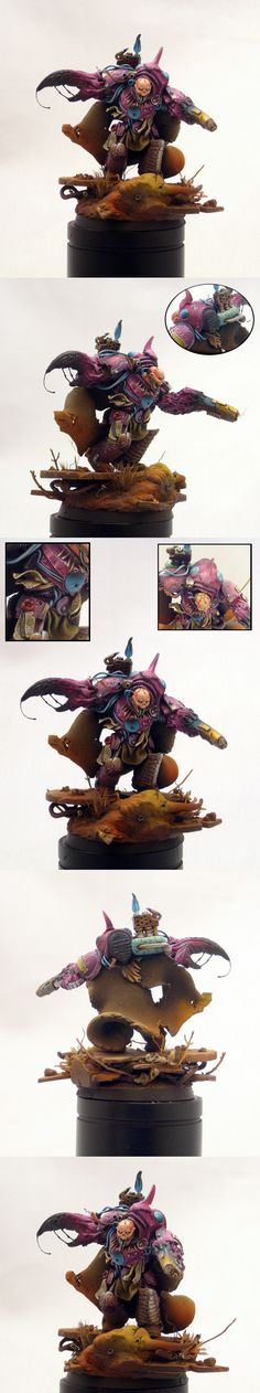 Slaanesh Terminator Lord