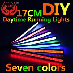 0.94$ (More info here: http://www.daitingtoday.com/kein-1-pcs-17cm-led-cob-drl-car-modification-car-styling-led-drl-daytime-running-light-external-lights-led-bar-light ) KEIN 1 PCS 17CM LED cob DRL car modification car styling led drl daytime running light external lights led bar light for just 0.94$