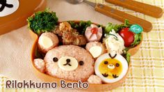 How to Make Rilakkuma Bento Lunch Box リラックマ弁当の作り方 - OCHIKERON - CREATE E...