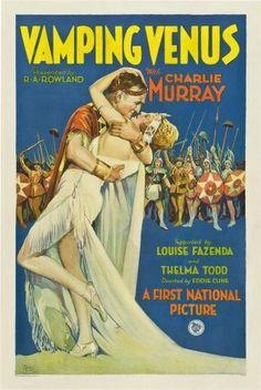 Vamping Venus Center Foreground From Left: Charles Murray Thelma Todd 1928. Movie Poster Masterprint (11 x 17)