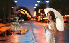 #photohop #manipulation #rainy #girl #photography #umbrella #retouching #digitalart