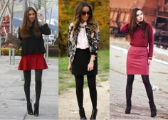 look monocromatico ankle boots