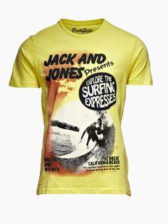 Surf Tee at Jack Jones