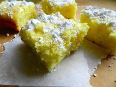 Two Ingredient Lemon Bars by Rachel Schultz