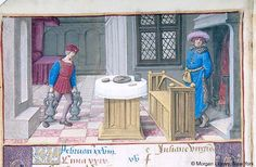 Hours of Henry VIII, MS H.8 fol. 1v - Images from Medieval and Renaissance Manuscripts - The Morgan Library & Museum