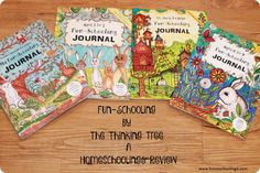 Homeschooling 6: Super Cute Journals From The The Thinking Tree!!!