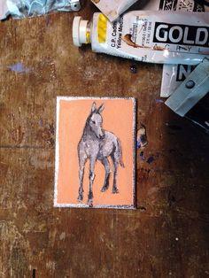 Horse by roseymorris on Etsy, #hudsonvalley #hvnyteam