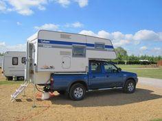truck camper steps truck camper ideas pinterest trucks ideas and campers. Black Bedroom Furniture Sets. Home Design Ideas