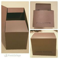 Large Louis Vuitton Gift Box Large Louis Vuitton Gift Box. Had LV purse inside when purchased. Brand new Louis Vuitton Accessories