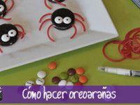 Video: Cómo hacer oreoarañas. Divertidas galletas Oreo con pinta de araña, ideales para Halloween.