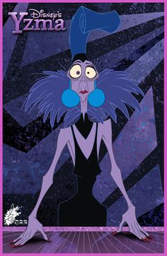 Emperor's New Groove - Yzma: disney [ This movie was soooo underrated ] Disney Love, Disney Magic, Disney Art, Disney Pixar, Kuzco Disney, Emperor's New Groove, Emperors New Groove Yzma, Disney Kunst, Funny Vines