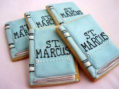Book back to school Cookies