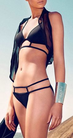 Sexy Strappy Bikini ♥ if you can wear this you can wear anything