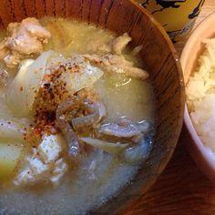 旦那さんいつまで経っても帰らないので、味見を兼ねて食べちゃえ! - 1件のもぐもぐ - 具だくさん豚汁 by naokawa15