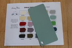 To make your own chalk paint: take the AS chalk paint sample chart to Home Depot and chose the closest shade in the Behr paint and primer in one. Chalk Paint Recipe: Plaster of Paris w/ water added at a time until smooth then add parts paint Behr Paint, Paint Stain, Paint Finishes, Paint Primer, Do It Yourself Furniture, Do It Yourself Home, Make Chalk Paint, Milk Paint, Regal Design