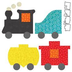 GO! Train- AccuQuilt.com Exclusive (55367) #accuquilt