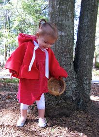 The Modest Homestead: Little Red Riding Hood Costume {Tutorial} Red Riding Hood Costume Kids, Costume Tutorial, Fabric Markers, Halloween Costumes For Kids, Little Red, Clothing Patterns, Girl Outfits, Flower Girl Dresses, Homestead