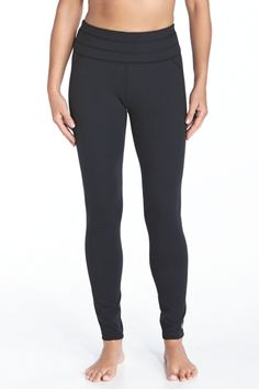 Our Yoga Leggings are designed with medium compression to provide a secure, supportive fit for all of your activities. Made of our Knit SUNTECT®️ fabric, these exercise leggings are 4-way stretch, wicking, and fully opaque, with an anti-microbial technology to prevent odor build up. Take our word for it—these are the perfect workout leggings for the gym, yoga, and everything in between!  Yoga Leggings - Shop Fitness Pants for Women - Coolibar: Sun Protective Clothing - Coolibar