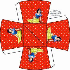 Blancanieves: Cajas para Imprimir Gratis. | Ideas y material gratis para fiestas y celebraciones Oh My Fiesta!