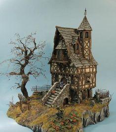 Ах, этот маленький прекрасный мир. №1 Диорама, миниатюра, tabletop-world, длиннопост