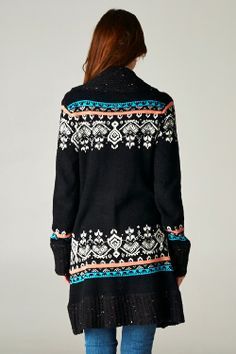 Fair Isle Knit Sweater on Emma Stine Limited Fashion Moda, Look Fashion, Fashion Outfits, Womens Fashion, Fair Isle Knitting, Autumn Winter Fashion, Winter Style, Passion For Fashion, Style Me
