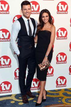 Mark Wright And Michelle Keegan At The TV Choice Awards, 2014