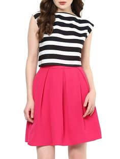 Check out what I found on the LimeRoad Shopping App! You'll love the Solid Pink Box Pleat Skirt. See it here http://www.limeroad.com/products/13041410?utm_source=df9ad5b1ad&utm_medium=android