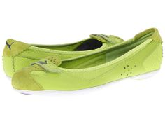 PUMA Zandy Mesh Wn's Lime Punch/Sharp Green/Liberty Blue - Zappos.com Free Shipping BOTH Ways. I Love the blue!!