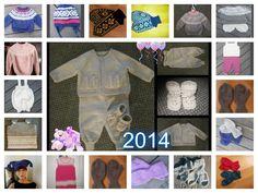 Den tapte tråd: Årskavalkade strikking og hekling 2014