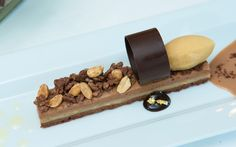 You know you want to try this delicious desert from Gotham Steak, Fontainebleau  Miami Beach.