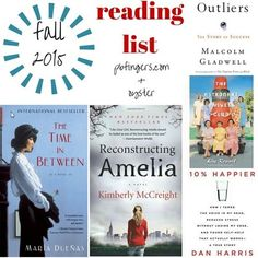 My Fall 2015 Reading List