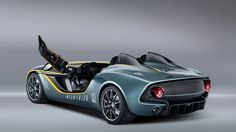 Aston Martin CC100 Speedster Revealed. See the photo's and video here.