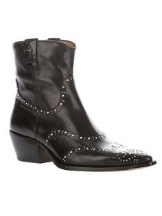 Cesare Paccioti BEDAZZLED boots. $852 on far fetch.