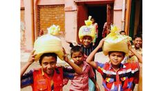Rice Bucket Challenge in India - http://lionsclubs.org/blog/2014/10/31/rice-bucket-challenge-in-india/