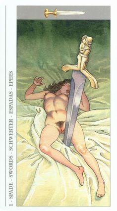 Decameron Tarot (erotic) - Rozamira Tarot - Àlbums web de Picasa