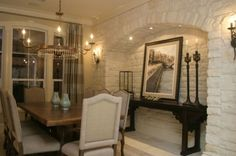 European Elegance with an Urban Twist - dining room - houston - A Waters