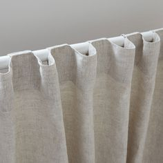 Image 3 of the product Faded linen curtain Image 3 of the product Faded linen curtain Wave Curtains, Cotton Curtains, Curtains With Blinds, Drapes Curtains, Drapery, Blackout Curtains, Window Bed, Window Seats, Crafts