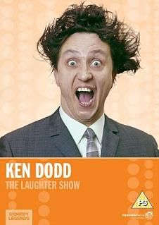The wild-haired Liverpudlian comedian Ken Dodd in The Laughter Show (1979) - this series aired on ITV and ran for six episodes.