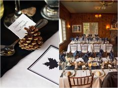 Nina + Andrew - Bonnie View Inn Wedding - Miller Ellis Photography Fall Wedding Colors, Ontario, Wedding Inspiration, Colours, Table Decorations, Photography, Home Decor, Homemade Home Decor, Photograph