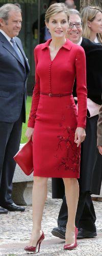 23 Apr 2015 - King Fleipe & Queen Letizia attend 'Cervantes Award' ceremony. Click to read more