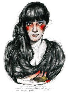 Comprar print Paula Bonet - Elegía lámina ilustración
