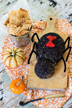 Black widow baby i found a picture of a black widow cheese ball