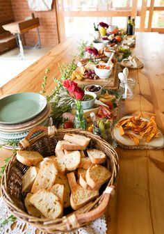 Crostini Bar from a Tribal First Birthday Party via Kara's Party Ideas | KarasPartyIdeas.com (18)