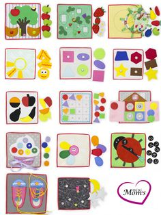 Quiet tablets /Quiet Book Busy Book educational 1 tablets