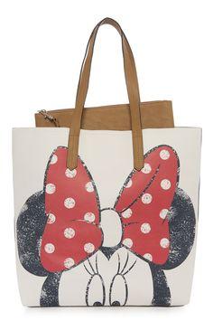 Primark - Minnie Mouse Tote Shopper Bag
