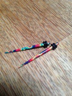 14G Tie Dye Microtapers 14G Tie Dye Ear Tapers 14G by ToTheLuna